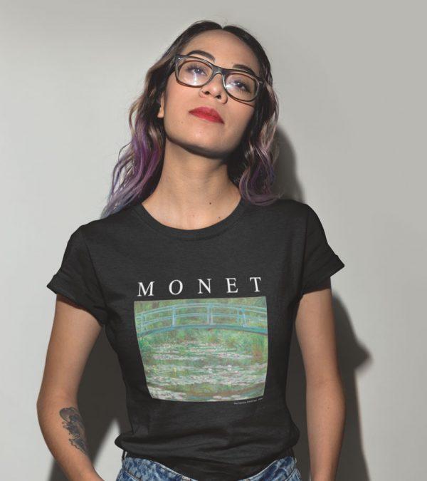 Monet Frauen T-Shirt black