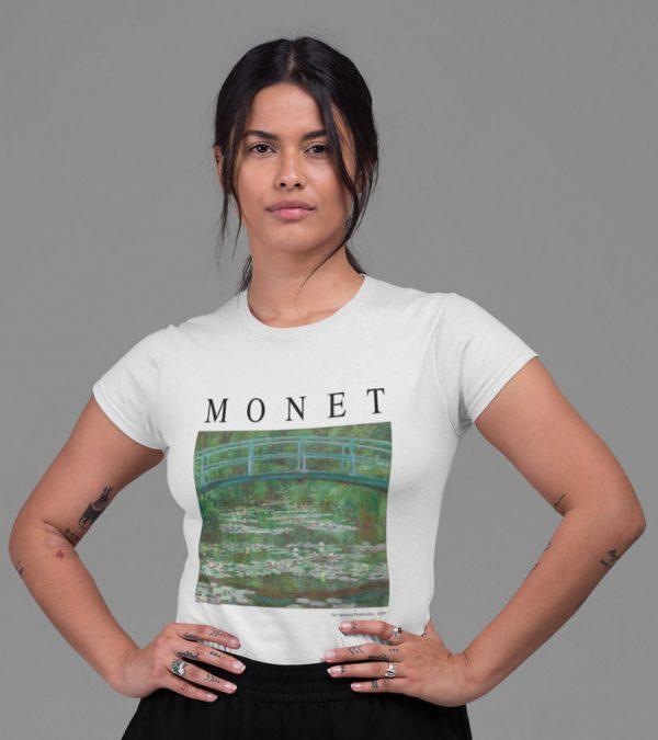 Monet Frauen T-Shirt white