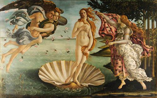 Die Geburt der Venus - Botticelli