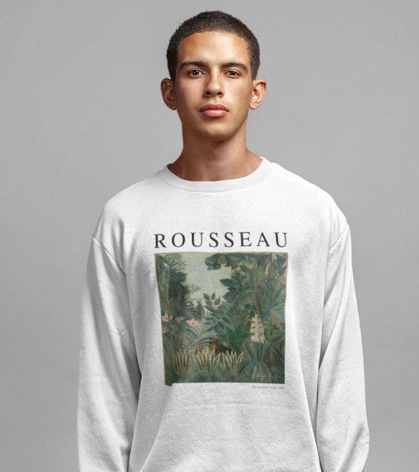 Rousseau Kunst Pullover Dschungel